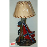 POLYRESIN FIGURINES/LAMPS